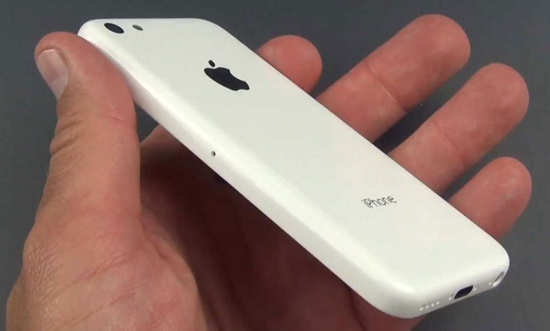 iPhone 5C blanco diseño