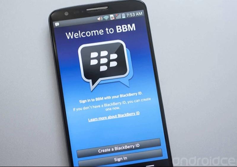 BBM Samsung Galaxy Android