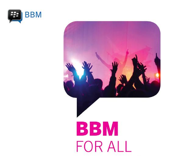 BBM4ALL BBM Android iOS iPhone