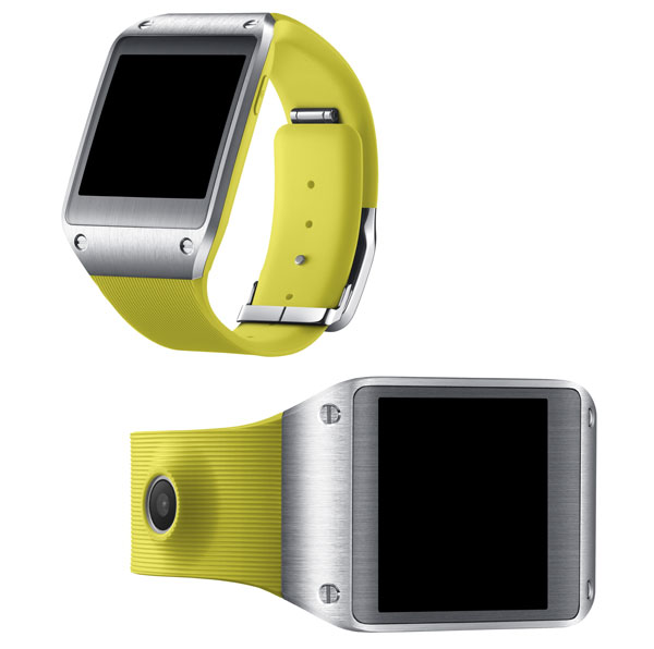 Samsung Galaxy Gear amarillo
