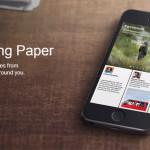 Facebook lanza Paper, nueva y bonita aplicación para leer contenidos