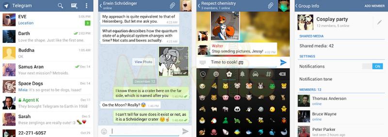 Telegram, nueva competencia de WhatsApp