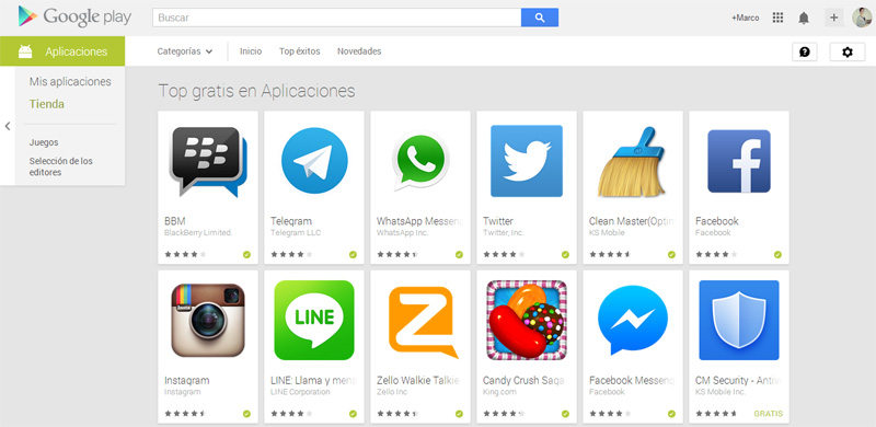 BBM se corona como la app Android 1 en el top de Google Play, tú la utilizas