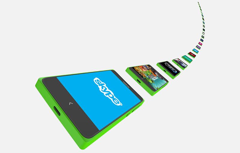 El nuevo Nokia X con Android aplicaciones