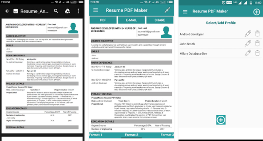 Como Hacer Un Curriculum Vitae En Moviles Android Y Iphone