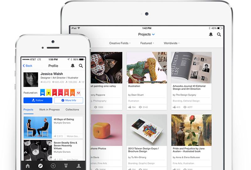 Behance para iOS, una poderosa fuente de creatividad artística