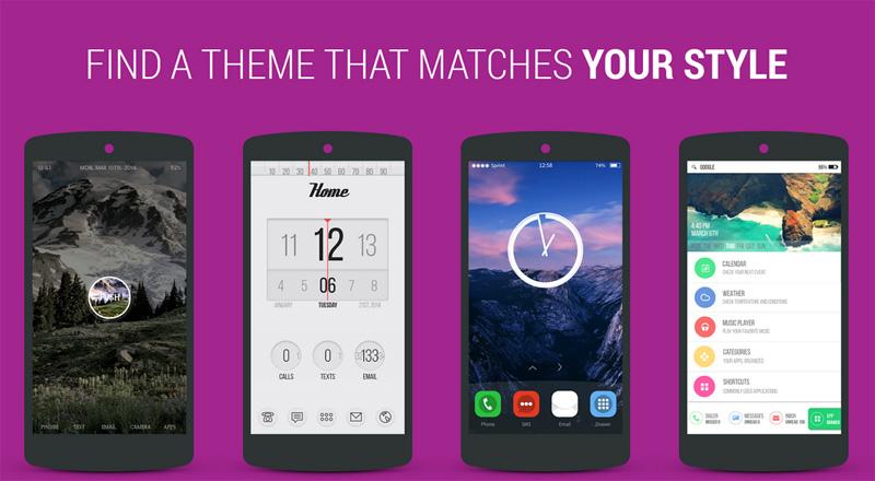 Con Themer, cambiar el tema de tu Android nunca fue tan fácil