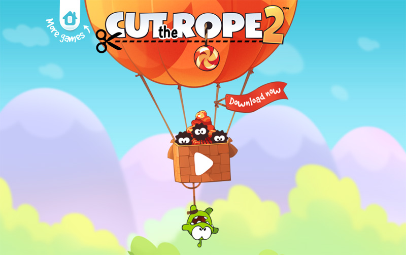 Cut the Rope 2 para Android, ¿ya lo descargaste?