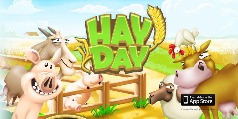Hay Day, probablemente el mejor juego de granjas para móviles