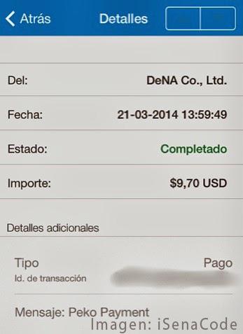 app peko pago paypal prueba