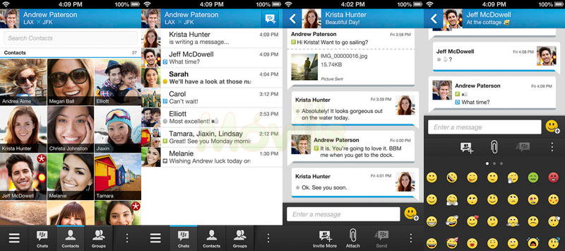 BBM se actualiza para Android y iPhone con nuevos emoticones y más