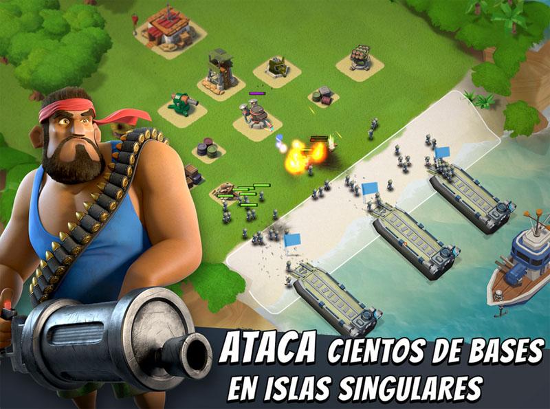 Boom Beach finalmente llega a Android, de los creadores de Clash of Clans