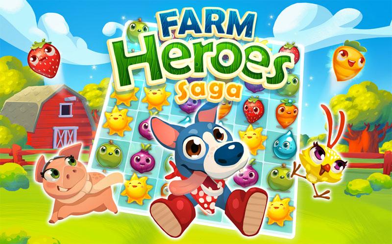 Farm Heroes Saga para Android, el Candy Crush de las cosechas