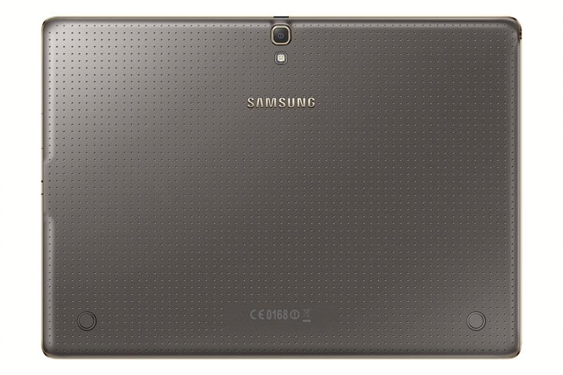 Samsung presenta la nueva Galaxy Tab S, ¡todo un lujo! trasera