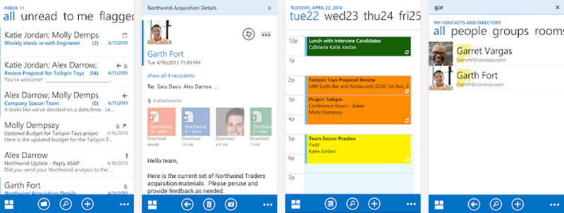 Versión 'preview' de la Outlook Web App ya en Google Play