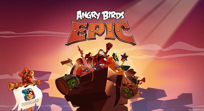 Angry Birds Epic, todo un RPG con pájaros enojados