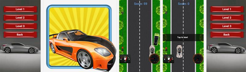 Maneja tu automóvil favorito en este sencillo juego de carreras para Android