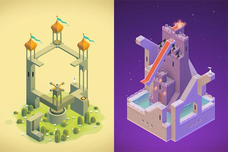 Monument Valley, sus hermosas arquitecturas te enamorarán (iOS/Android)
