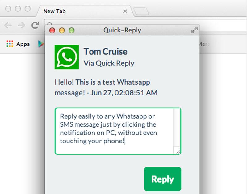 Ya puedes responder mensajes de WhatsApp desde la computadora (Android)