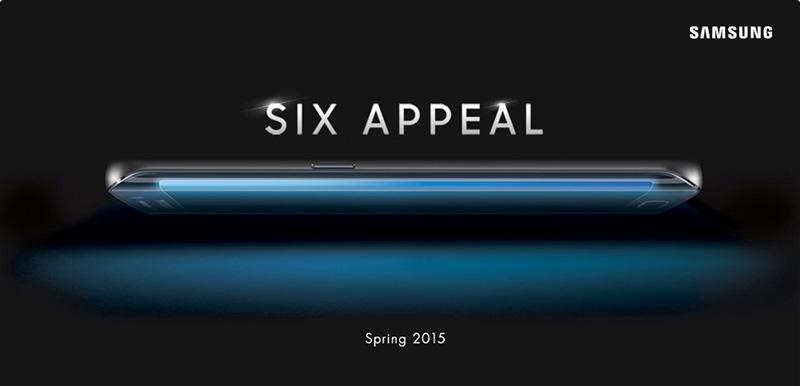 Samsung Galaxy S6 azul perfil