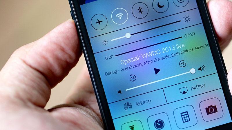 control center iPhone 6 iOS 8