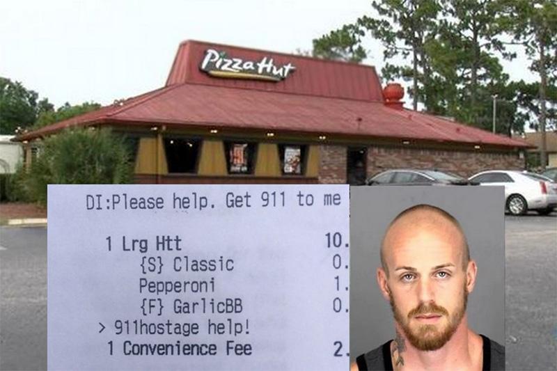 pizza hut rehén salva su vida con aplicación factura