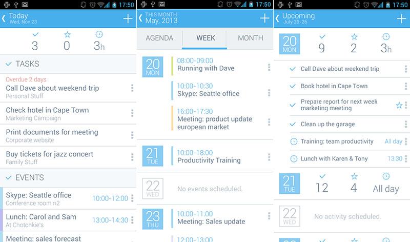 Hightrack iphone android organizar tiempo aplicación