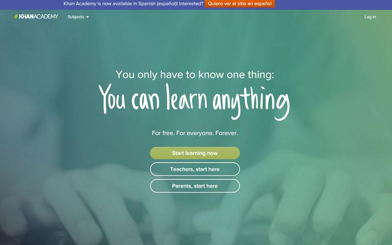 curso de programación gratis Khan Academy