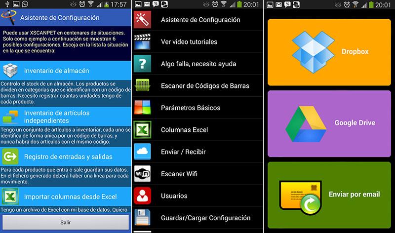 ScanPet android inventario aplicación