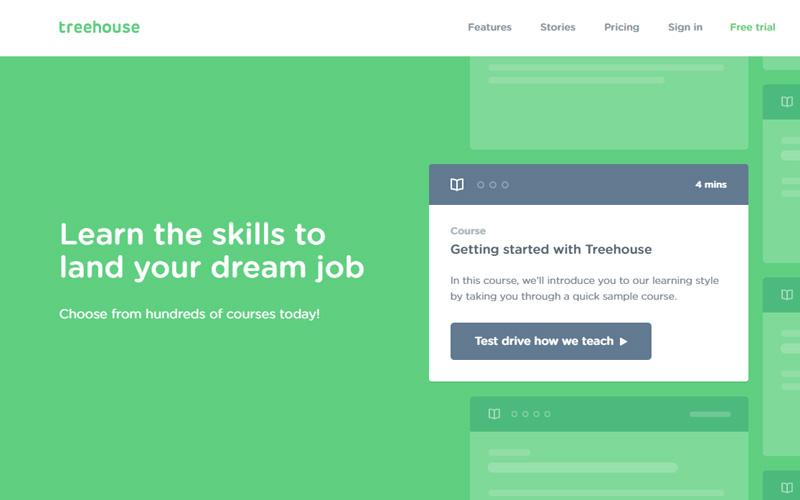 curso de programación gratis Treehouse