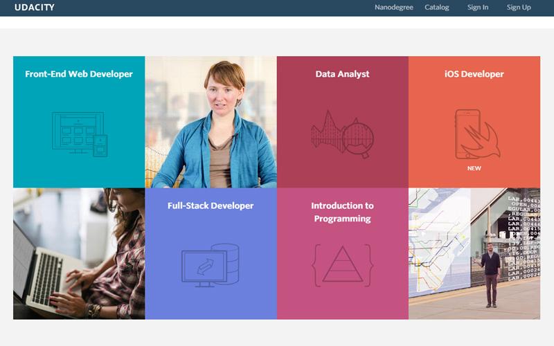 curso de programación gratis Udacity