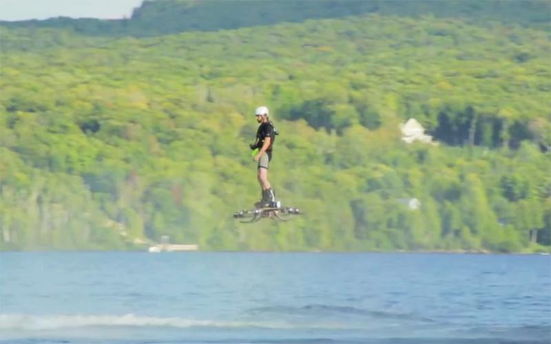 inventor de la hoverboard patineta voladora