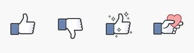 emojis no me gusta de Facebook