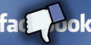 Facebook botón no me gusta