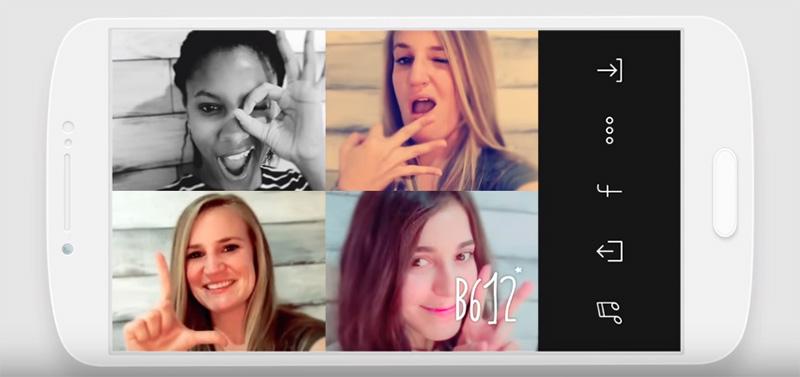 B612 selfies como profesional