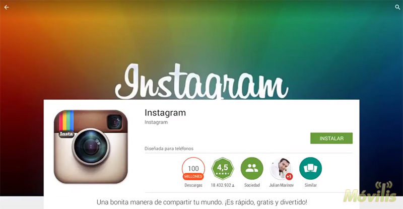 Subir fotos a Instagram desde PC y Mac con BlueStacks