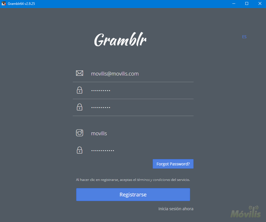 Subir fotos a Instagram desde PC y Mac con Gramblr