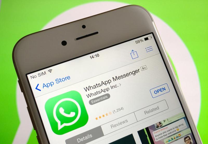 WhatsApp app store