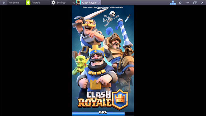 Clash Royale PC Mac bluestacks