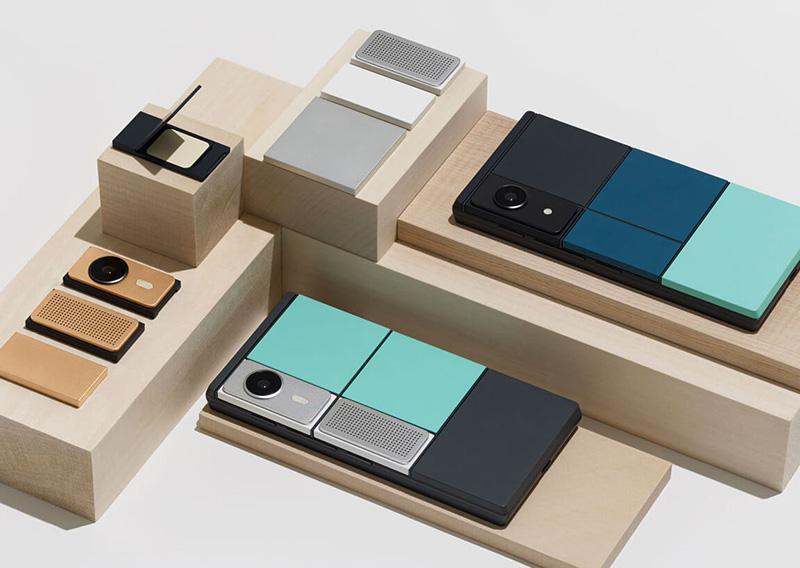 Google Project Ara teléfonos modulares