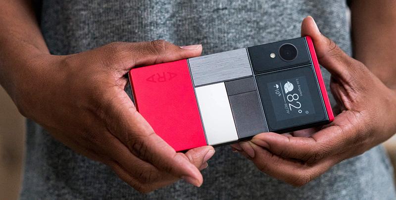 Google Project Ara smartphones modulares 2017