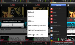 descargar youtube vídeos TubeMate Android
