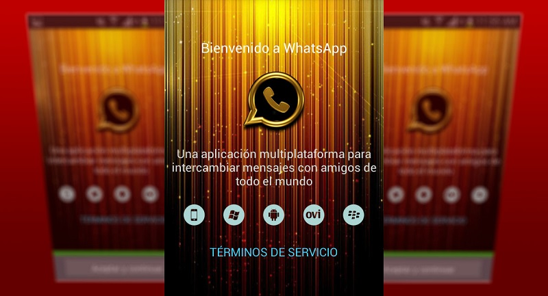 WhatsApp Gold versión falsa de WhatsApp