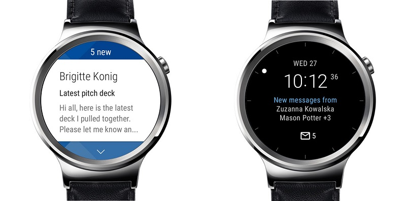 Microsoft Outlook para relojes Android Wear