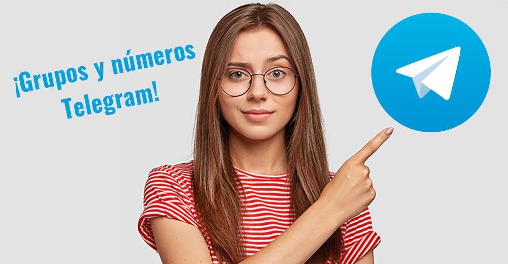 Grupos de Telegram para conocer mujeres
